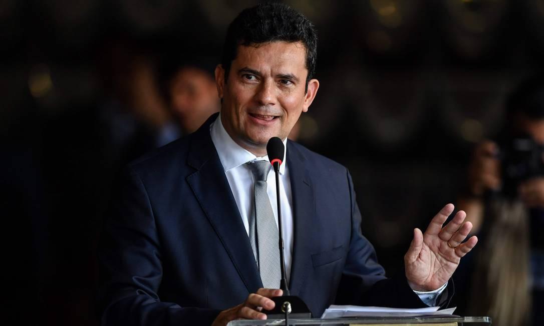 Ministro Sergio Moro Foto: NELSON ALMEIDA / AFP