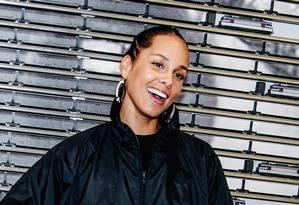 A cantora Singer Alicia Keys será a apresentadora do Grammy 2019 Foto: NINA WESTERVELT / NYT