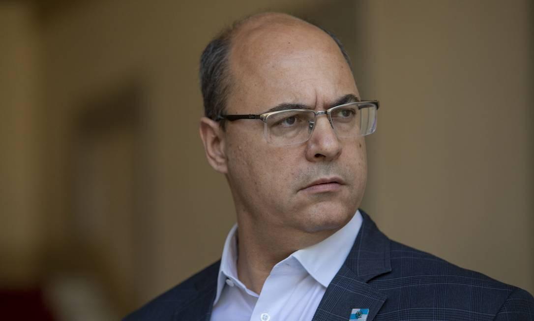 O Governador do Rio, Wilson Witzel Foto: Ana Branco / Agência O Globo