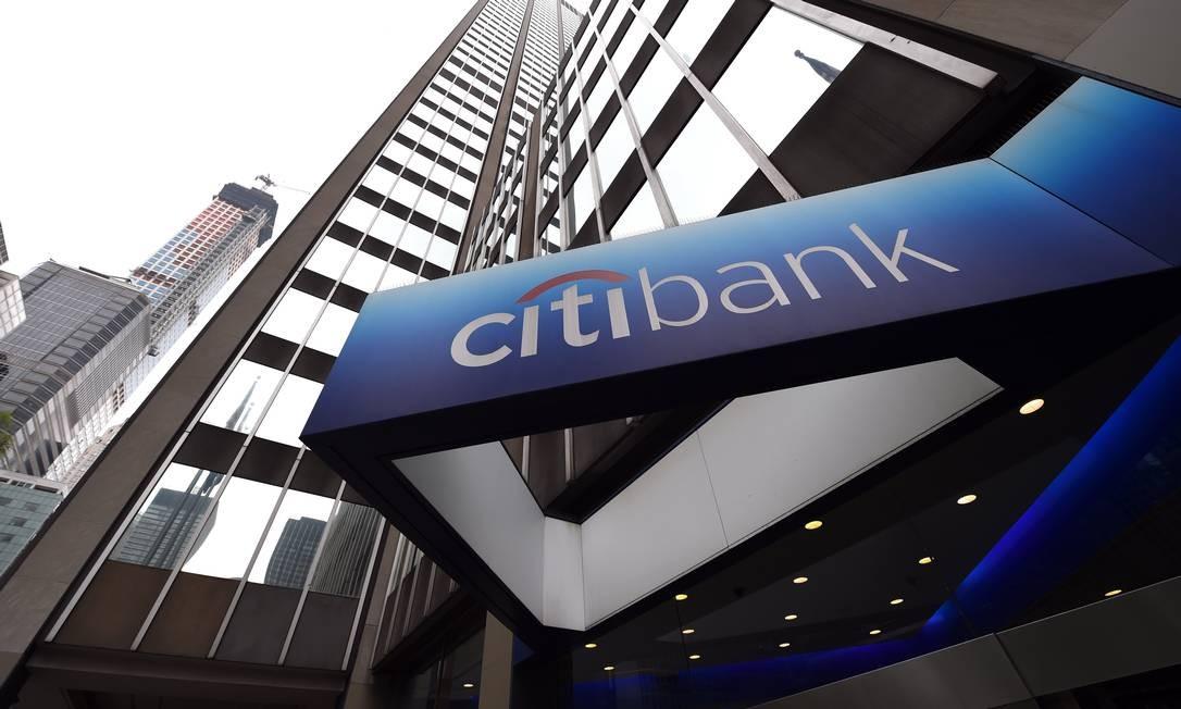 Sede do Citibank Foto: TIMOTHY A. CLARY / AFP