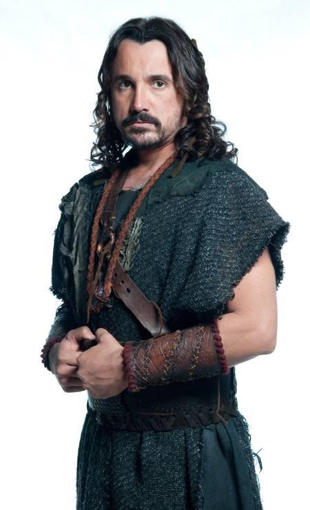 Em 2013, o ator participou da minissérie 'José do Egito', da Record Foto: Divulgação / Record