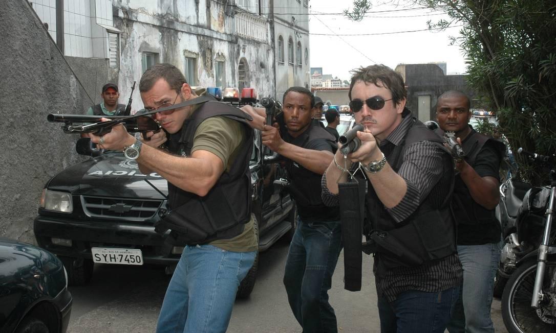 Em 2009, no seriado 'A lei e o crime', o ator interpretou o personagem Romero Foto: Munir Chatack / Record