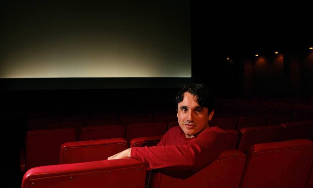 O ator posa para O GLOBO durante a turnê de divulgação de 'Tropa de Elite', em 2007 Foto: Hudson Pontes / Agência O Globo