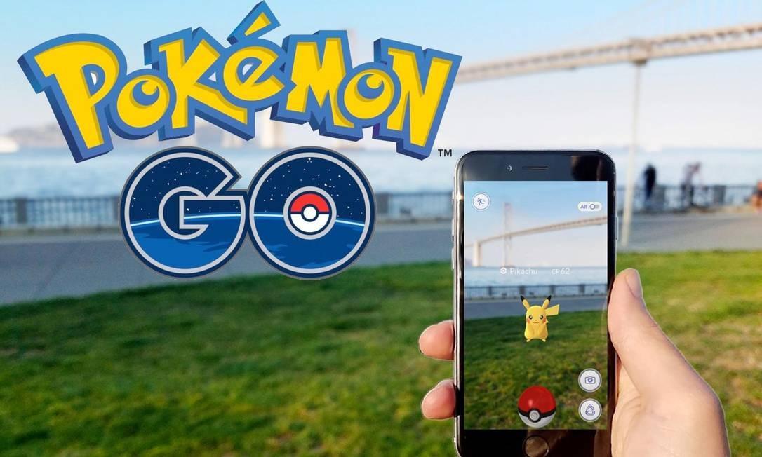 Pikachu no Pokémon Go: valorização da companhia chegou a quase US$ 4 bilhões Foto: Divulgação