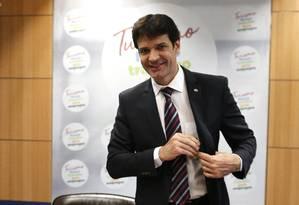 O ministro do Turismo, Marcelo Álvaro Antônio, planeja mudanças na política de emissão de vistos brasileiros para quatro países Foto: Jorge William / Agência O Globo