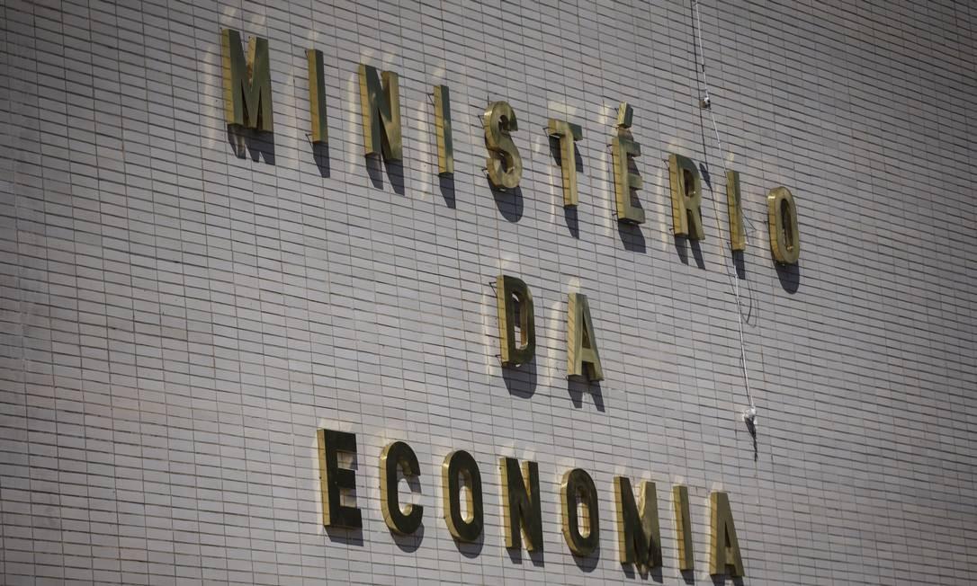 Ministério da Economia estuda medidas a serem adotadas Foto: Daniel Marenco/Agência O Globo/02-01-2019