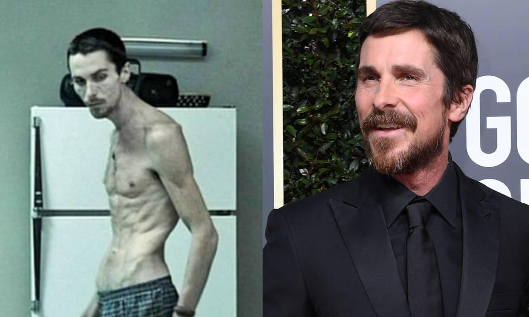 O ator está acostumado a passar por mudanças extremas. O caso mais famoso é de quando ele perdeu 28 quilos para viver o protagonista de 'O operário' (2004) Foto: Divulgação/AFP