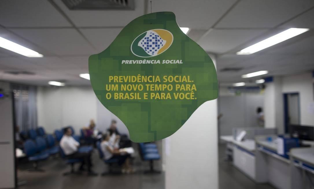 Agência do INSS em Copacabana, zona Sul do Rio Foto: Márcia Foletto / Agência O Globo