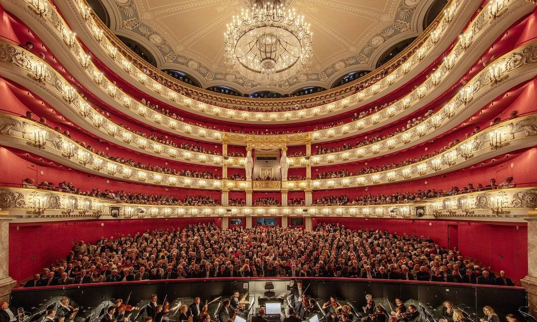 A Bayerische Staatsoper (Ópera do Estado da Baviera) é uma das instituições que fazem da alemã Munique um dos melhores destinos para o turismo cultural na Europa Foto: Andreas Meichsner / The New York Times