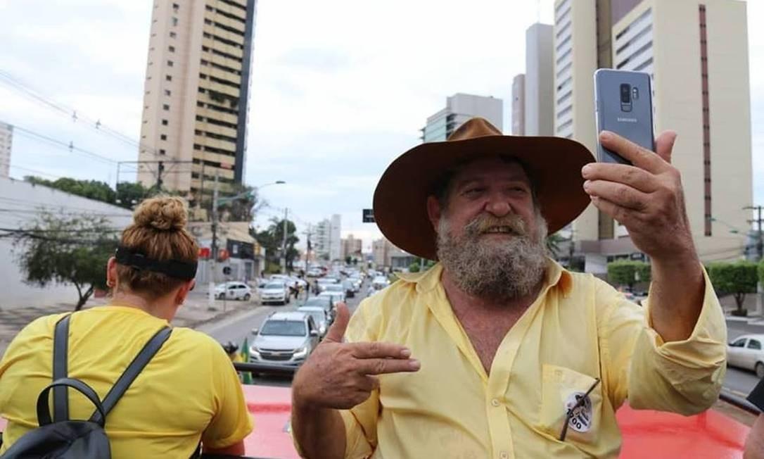 Nelson Barbudo (PSL) foi o deputado mais votado no MT e prometeu lutar judicialmente para que a demarcação de 2012 na terra indígena seja revista Foto: Reprodução / Facebook