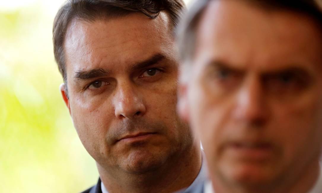 O senador eleito Flávio Bolsonaro, filho do presidente Jair Bolsonaro Foto: Adriano Machado / Reuters