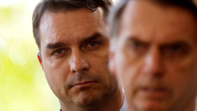 O senador eleito Flavio Bolsonaro, filho do presidente Jair Bolsonaro Foto: Adriano Machado / Reuters