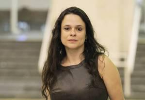 Janaína: baixas chances de presidir Alesp Foto: Marcos Alves