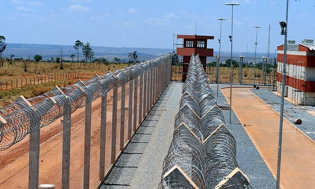 Presídio federal de Brasília Foto: Divulgação/Ministério da Justiça