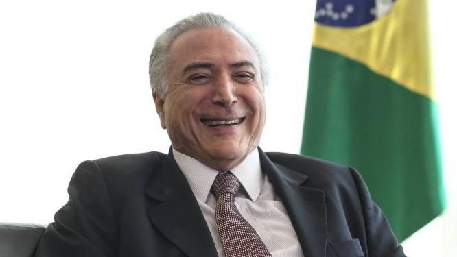 O ex-presidente Michel Temer Foto: Andre Coelho / Agência O Globo
