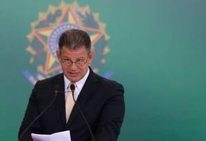 O ministro da Secretaria-Geral da Presidência, Gustavo Bebianno Foto: Pablo Jacob/Agência O Globo/02-01-2019