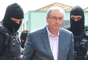 Defesa de Cunha alega constrangimento ilegal na prisão Foto: Jason Silva / AGIF