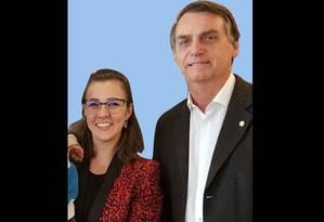 A advogada Karina Kufa, uma das coordenadoras da área eleitoral da campanha de Jair Bolsonaro Foto: Instagram/Reprodução