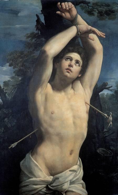 CLÁSSICO: O italiano Guido Reni pintou São Sebastião sete vezes. Esta versão é de 1625 Foto: Reprodução
