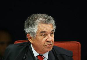 O ministro Marco Aurélio Mello, do Supremo Tribunal Federal. Foto: Aílton de Freitas