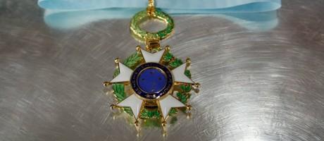 Medalha da Ordem Nacional do Cruzeiro do Sul Foto: MARCOS CORREA / Presidência