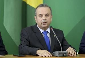 O secretário de Previdência, Rogério Marinho, durante entrevista Foto: Wilson Dias/Agência Brasil