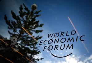 Bilionários que vão ao Fórum estão cada vez mais ricos. Foto: FABRICE COFFRINI / AFP