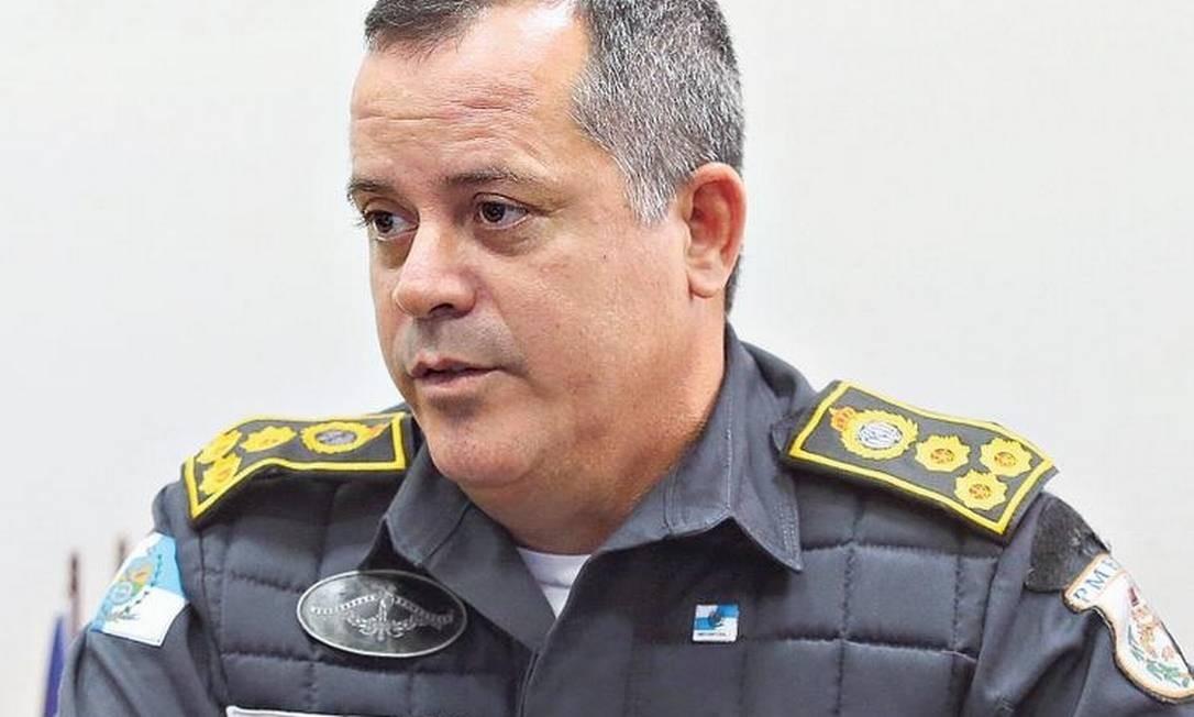 Coronel Rogério Figueredo: 'Tenho cobrado mais planejamento das ações dos comandos de policiamento até o soldado que está na ponta' Foto: Fabiano Rocha / Agência O GLOBO