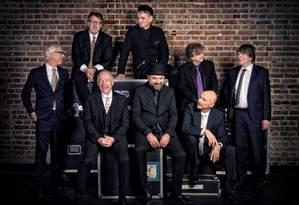 O grupo inglês King Crimson, em sua formação de 2019 Foto: Divulgação
