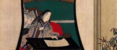 Sei Shônagon, autora de O Livro do Travesseiro, em gravura de Katsushika Hokusai (1760-1849) Foto: De Agostini Picture Library / Getty Images/DeAgostini