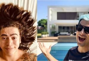 Whindersson Nunes e Felipe Neto começaram no YouTube e hoje expandiram suas marcas Foto: Instagram