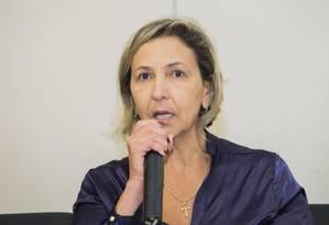 A delegada Sandra Ornellas, da Delegacia Especial de Atendimento à Mulher de Nova Iguaçu (RJ) Foto: divulgação/MP-RJ