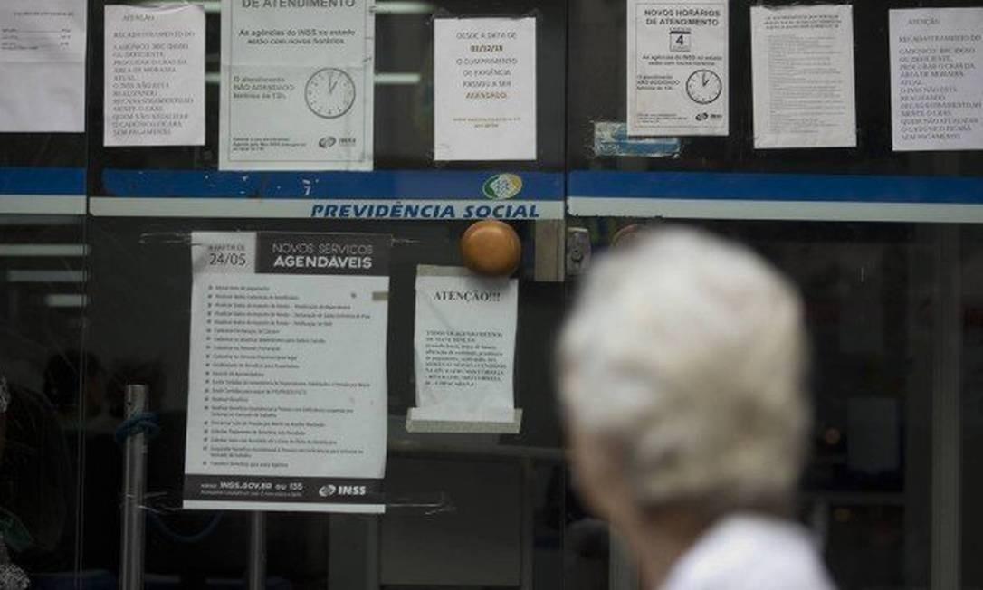INSS poderá suspender benefícios Foto: Márcia Foletto / Agência O Globo