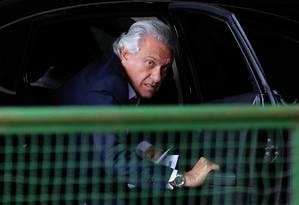 Ronaldo Caiado chega para uma reunião no CCBB Foto: Jorge William/Agência O Globo/27-12-2018