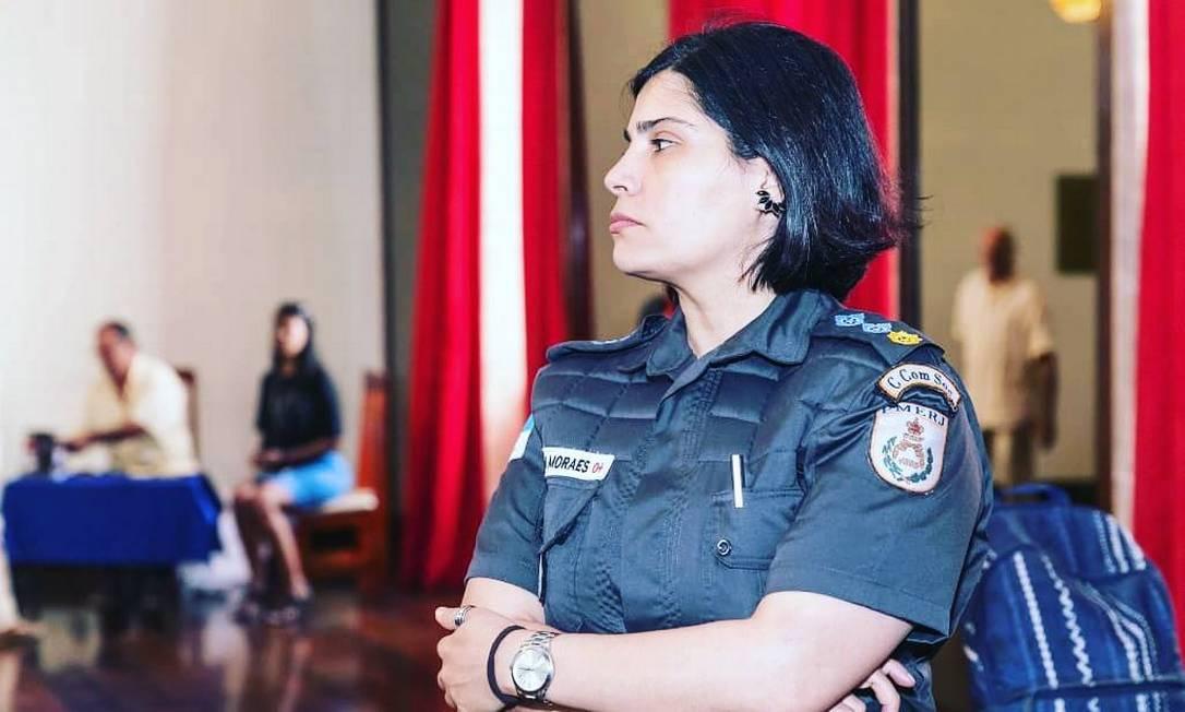 Major Cláudia Foto: Divulgação