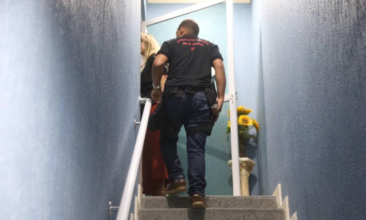 Conhecido como Escritório do Crime, grupo acusado de matar a vereadora Marielle Franco foi um dos alvos da operação policial Foto: Fabiano Rocha