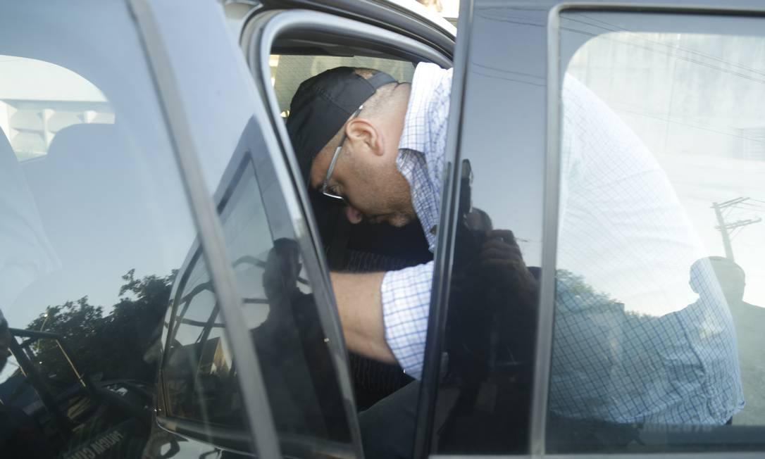 O major Ronald tem 43 anos, é investigado por integrar a cúpula do Escritório do Crime e acusado de comandar os negócios ilegais, como grilagem de terra e agiotagem Foto: Gabriel Paiva / Gabriel Paiva