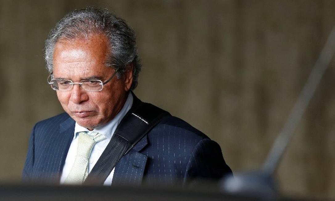 Paulo Guedes, ministro da Economia Foto: Reuters