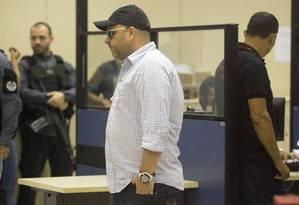 Ronald Paulo Alves preso na Operação Operação Os Intocáveis nesta terça-feira Foto: Márcia Foletto / Agência O Globo