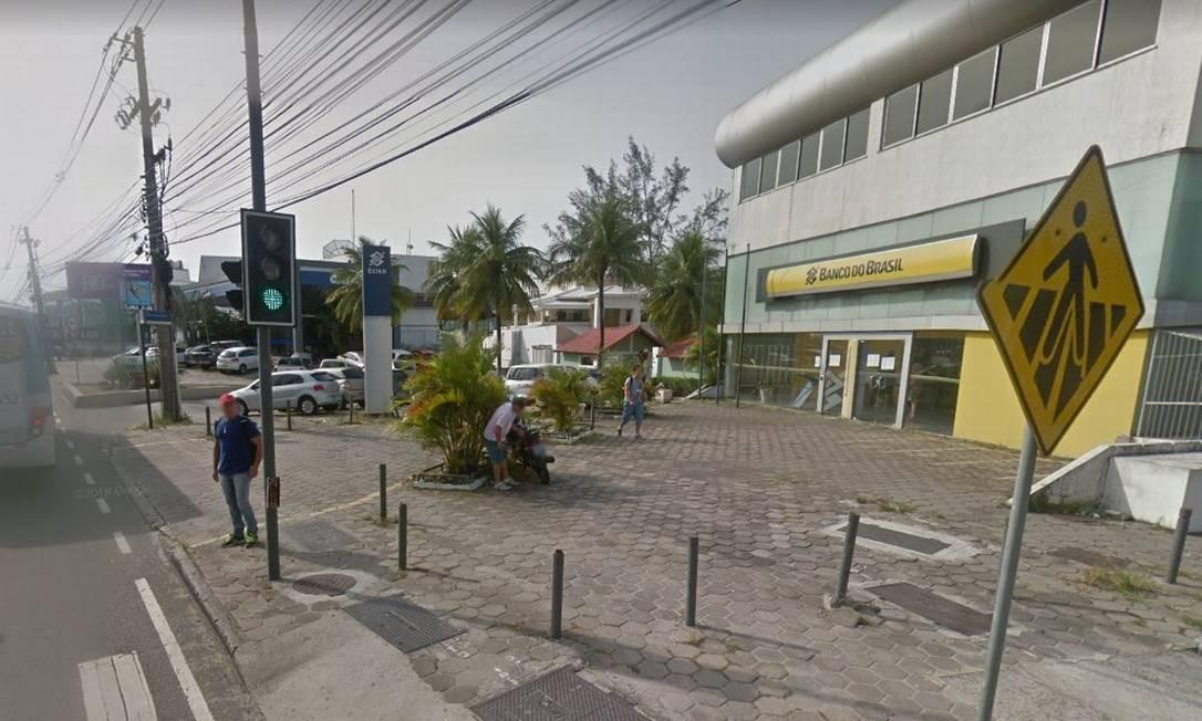 Agência bancária na Barra da Tijuca Foto: Reprodução/Google Maps