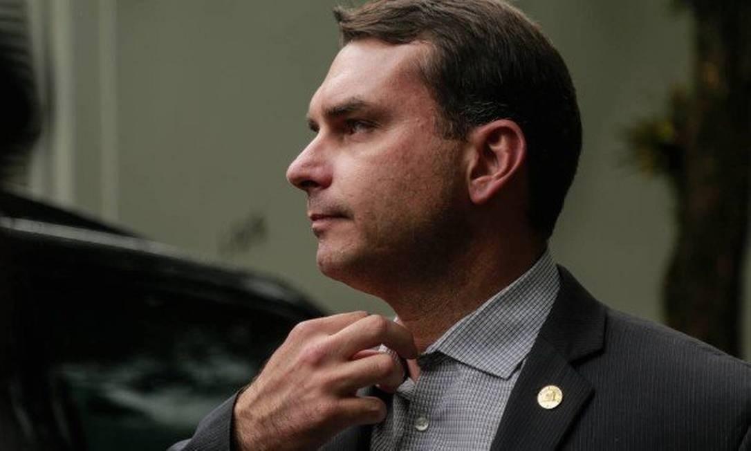 O senador eleito Flávio Bolsonaro 25/10/2018 Foto: Brenno Carvalho / Agência O Globo