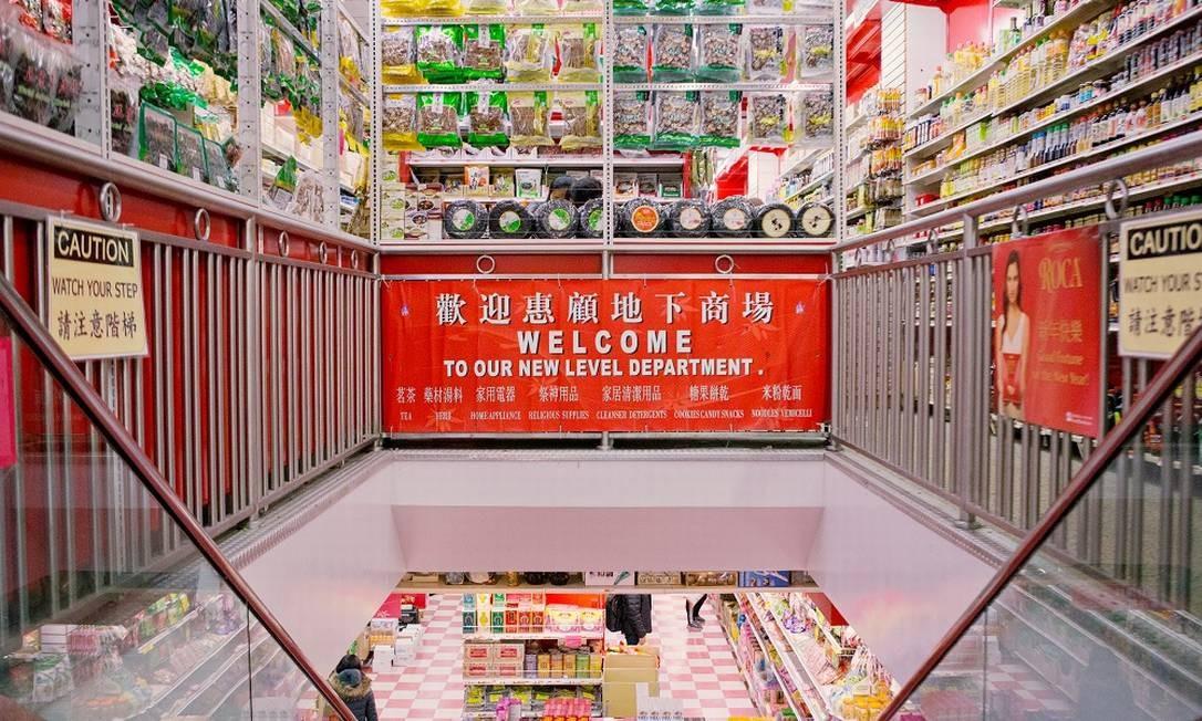 Mercado de Chinatown Foto: Mary Inhea Kang / Mary Inhea Kang/NYT