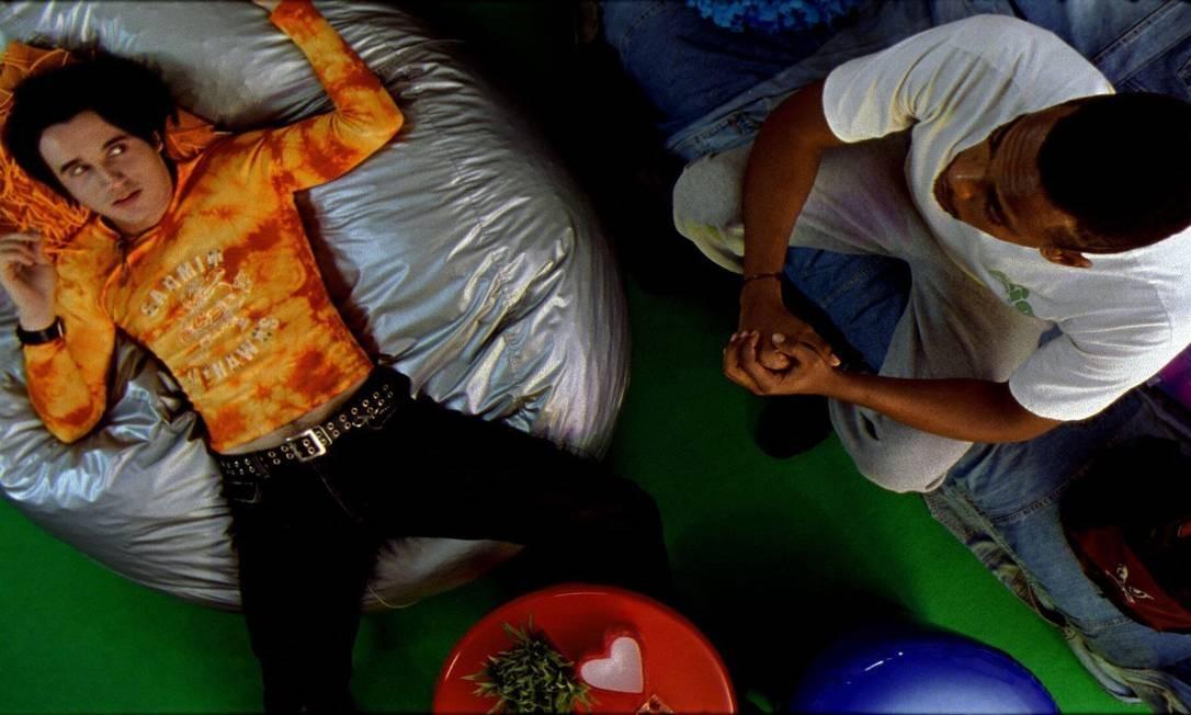 Ao lado de Rocco Pitanga no filme 'Seja o que Deus quiser!', de 2003 Foto: Ching C. Wang / Divulgação