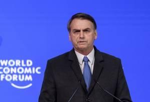"""O presidente Jair Bolsonaro afirmou que o Brasil """"precisa funcionar"""" e tomar medidas para consertar a economia Foto: AFP"""