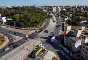 Avenida Dom Pedro I, em Belo Horizonte Foto: Pedro Gontijo / Pedro Gontijo