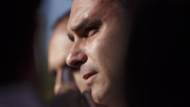 Flavio Bolsonaro, em setembro de 2018 Foto: Daniel Marenco / Agência O Globo