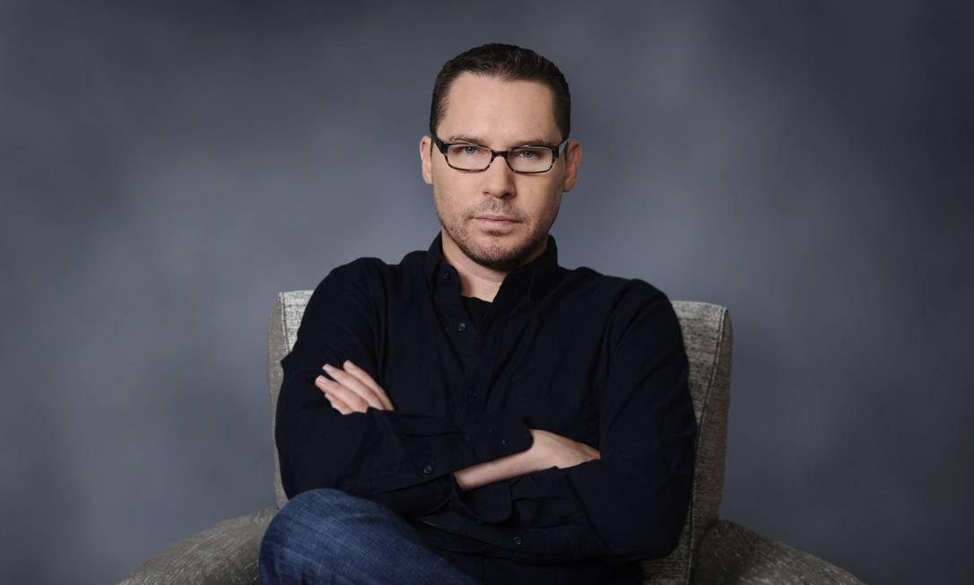 O diretor Bryan Singer, na época em que dirigiu o filme 'X-Men: Apocalipse' (2016) Foto: Divulgação