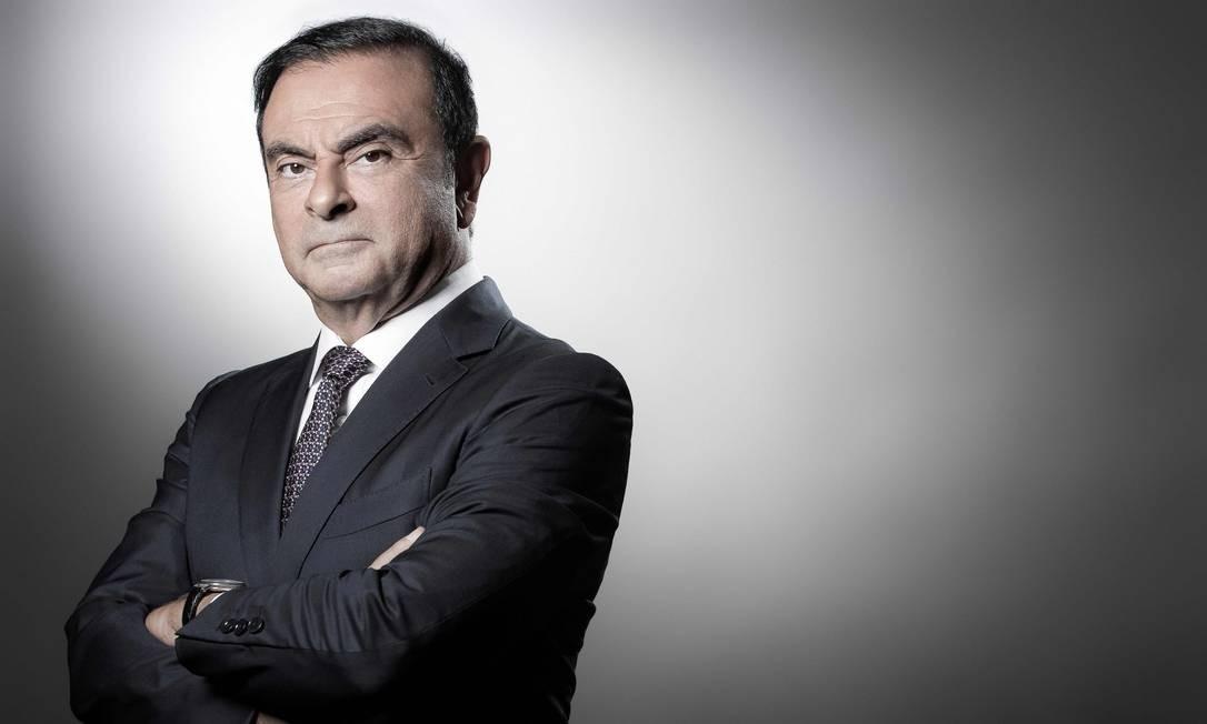 O executivo Carlos Ghosn Foto: JOEL SAGET / AFP/12-9-2018