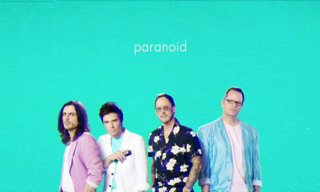 O grupo americano Weezer Foto: Reprodução da internet