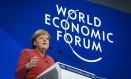 A chanceler alemã, Angela Merkel, pede regulação no uso de dados pessoais, mas não sabe como Foto: FABRICE COFFRINI / AFP